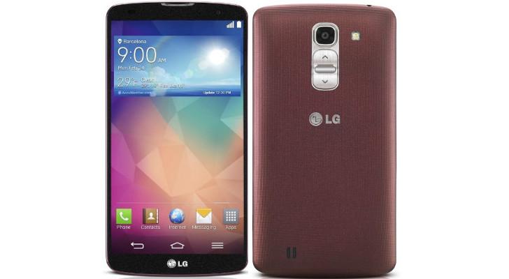LG G Pro 2 Rouge