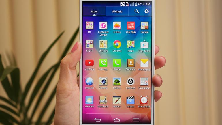 LG G Pro 2 Officiel