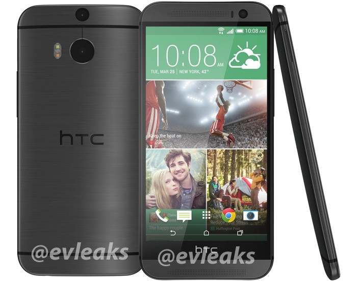 all new htc one gris