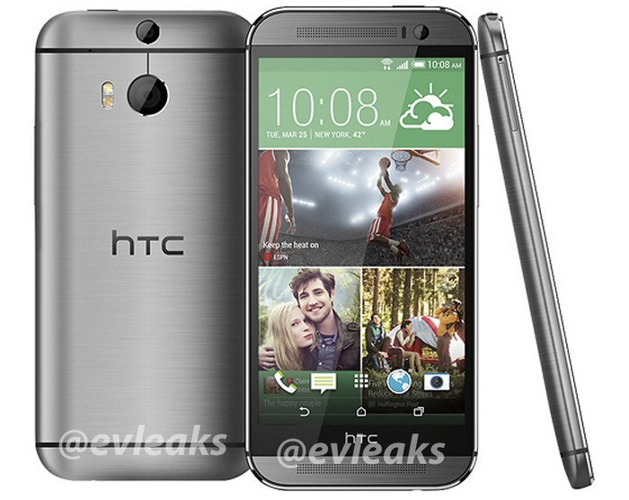 all new htc one argenté