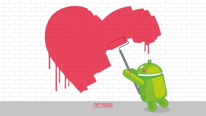 android saint valentin
