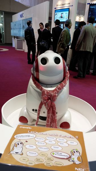 best of mwc 2014  robot