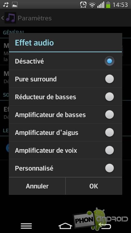 effet audio