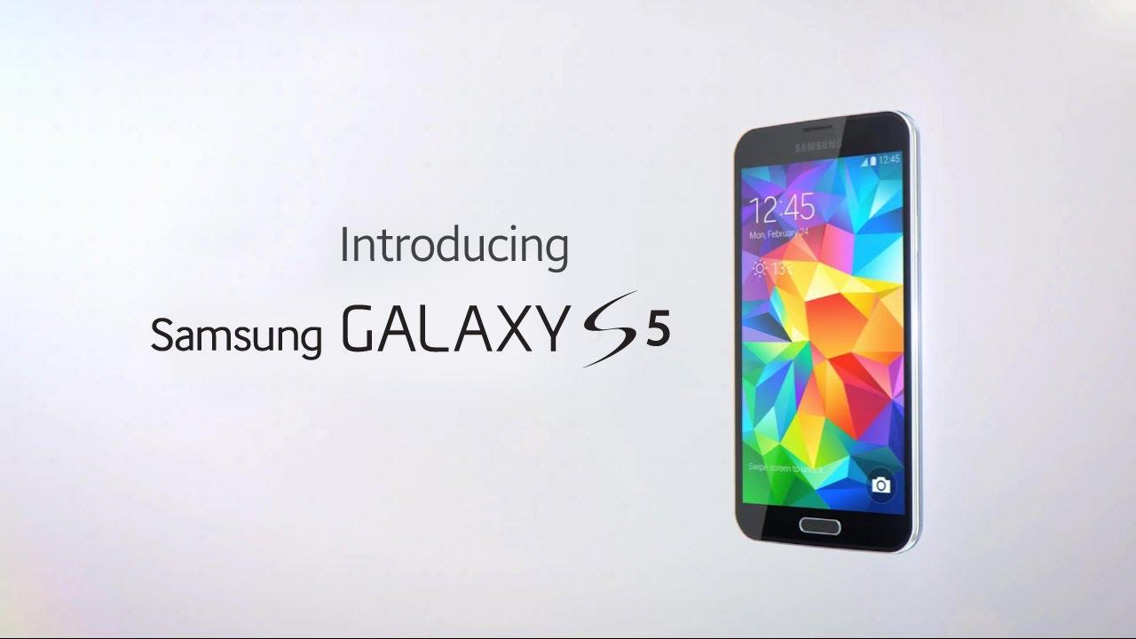 galaxy s5 presentation