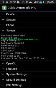 screen resolution galaxy s5