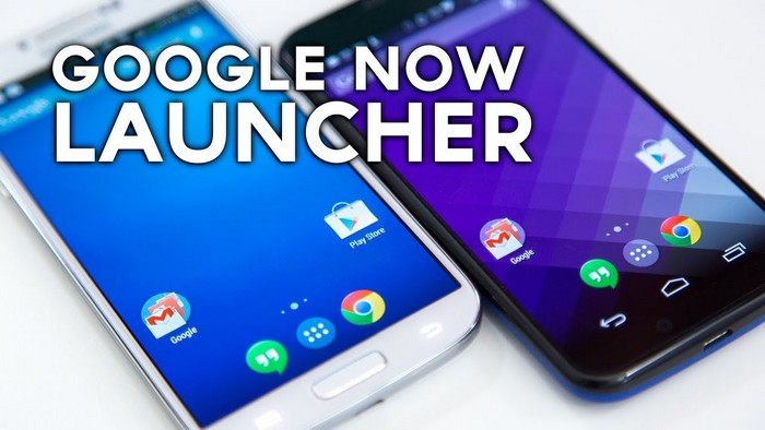google now launcher tous les nexus