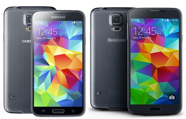 goophone s5 face au galaxy s5