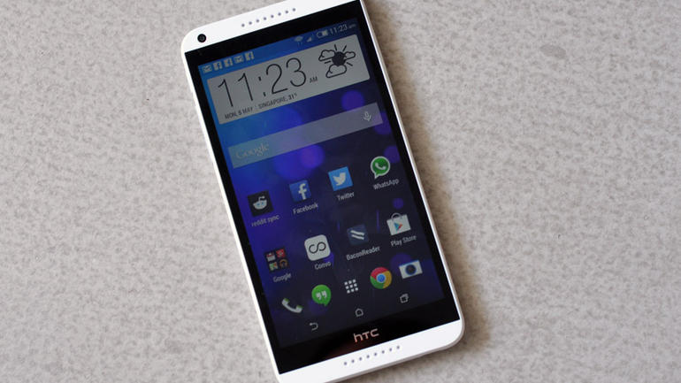 HTC Desire 816 prise en main