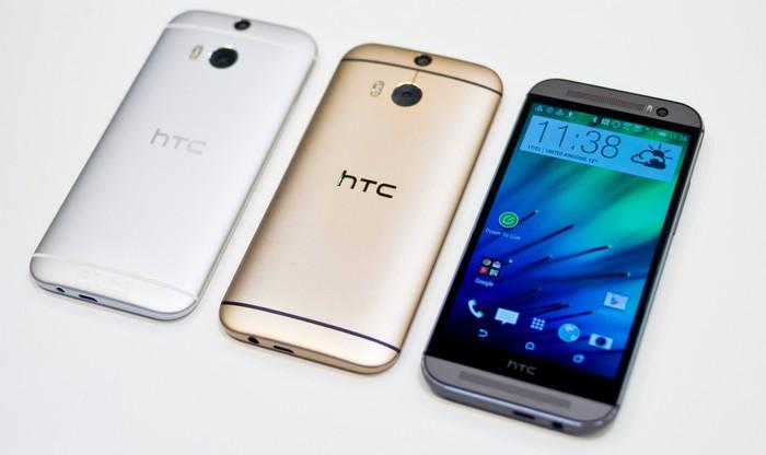 HTC One M8 meilleur smartphone de l'année
