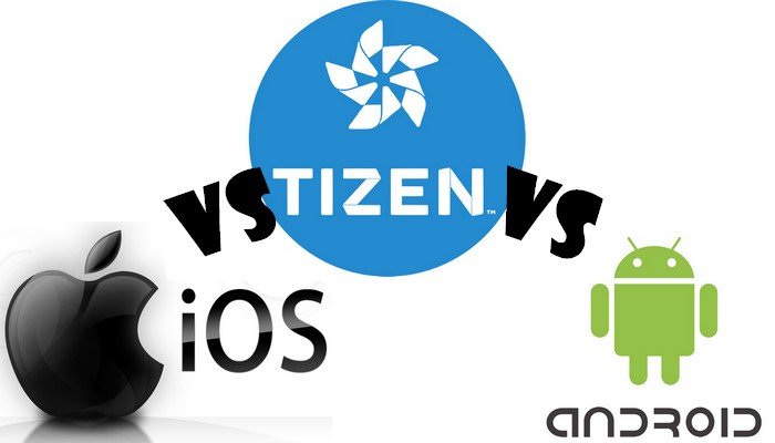 ios vs tizen vs android