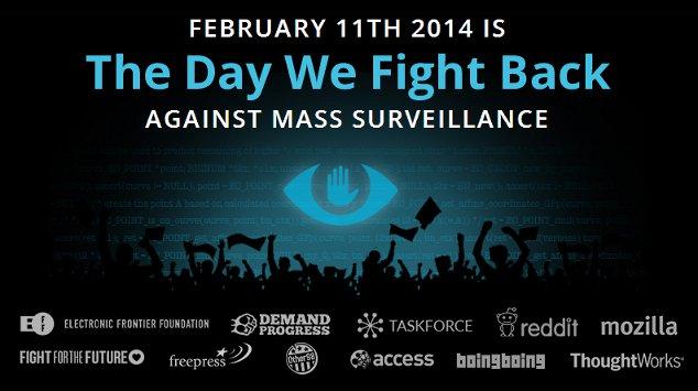 journée mondiale contre surveillance masse