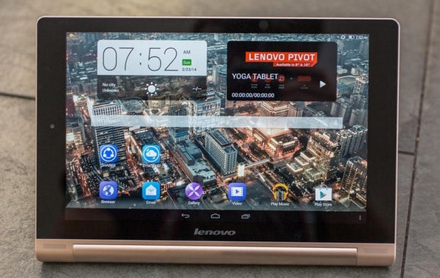 Lenovo Yoga tablet 10 HD+ officielle