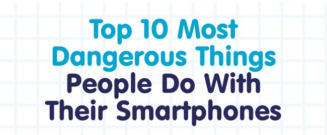 ne pas faire smartphone