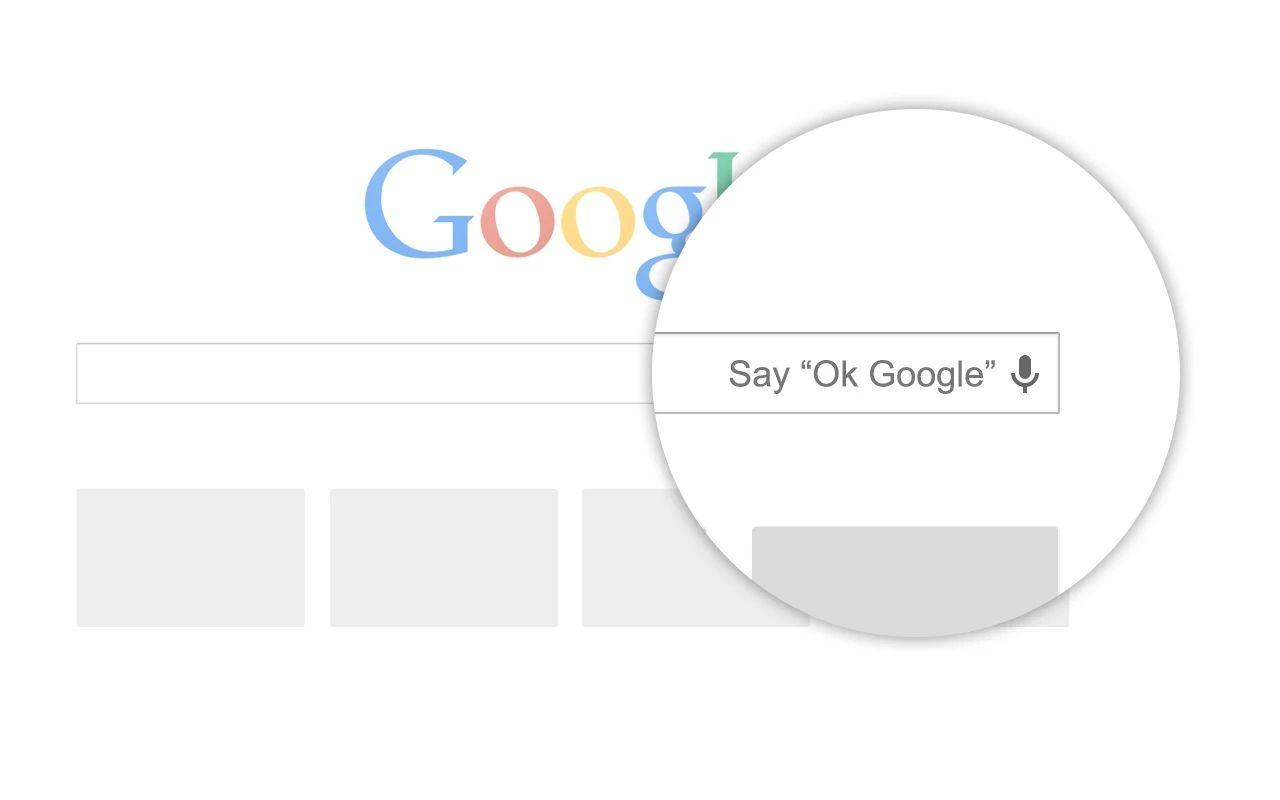 OK Google est sur PC