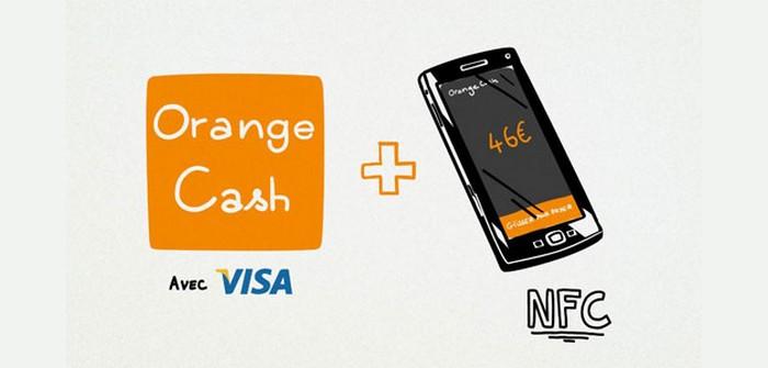 orange cash paiement nfc