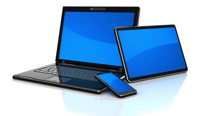 PC, tablette et smartphone