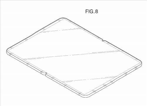 Samsung Tablette pliable