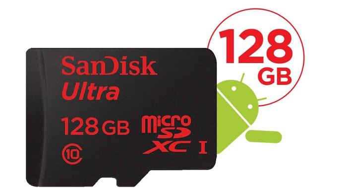 Sandisk micro SD 128 go