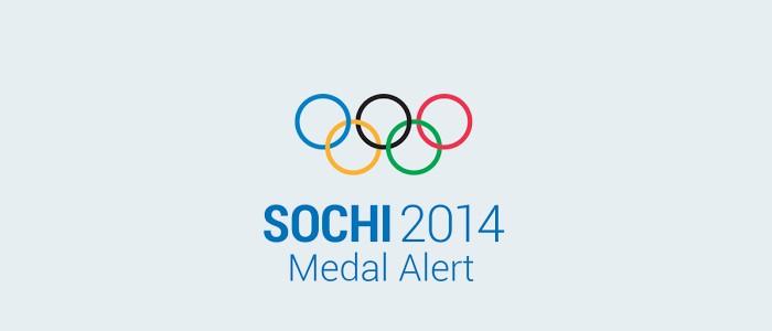 sochi medal alert