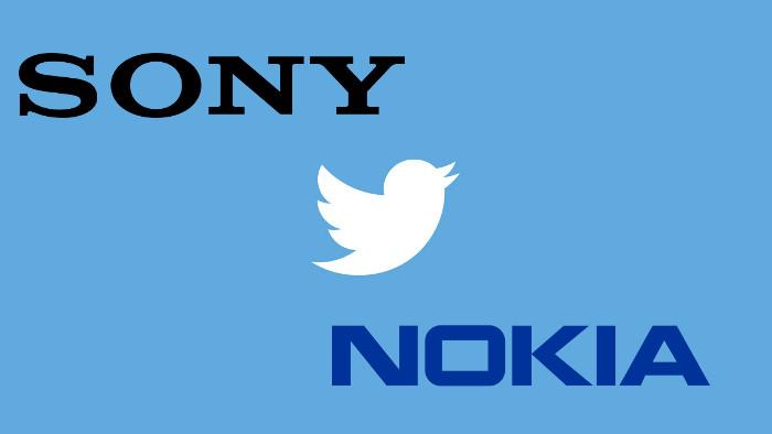 sony nokia twitter