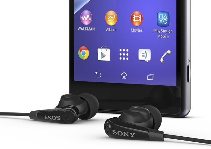 Sony Xperia Z2 écouteurs