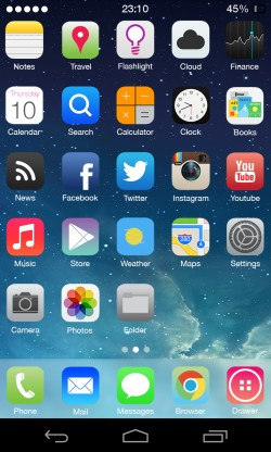 thème themer iOS7