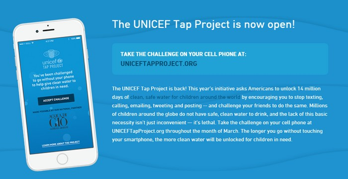 unicef tap project
