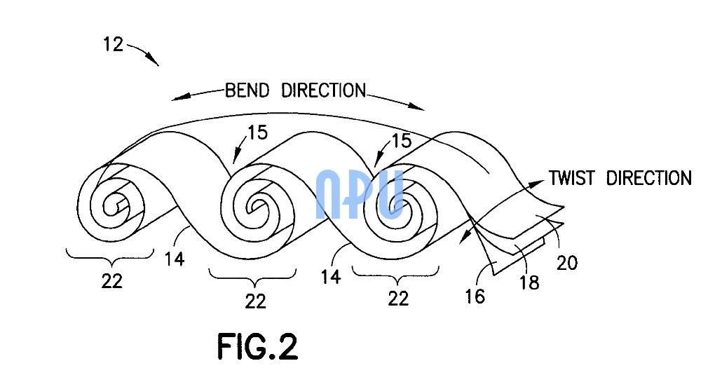 brevet batterie flexible