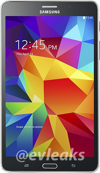 Galaxy Tab 4 7.0 et 10.1 font surface