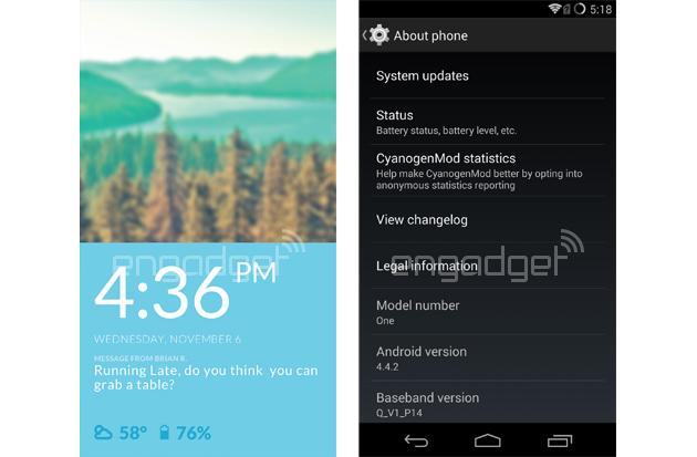 Le Oneplus one sera avec cyanogenmod