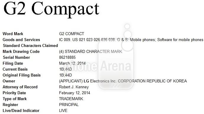 nouveau g2 compact