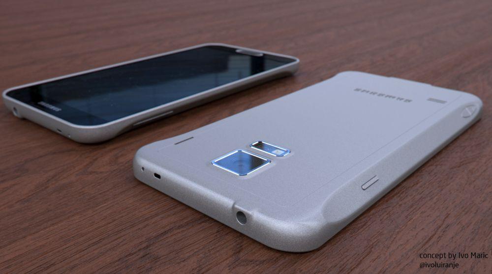 Samsung galaxy F, en métal