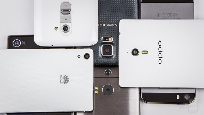 Comparatif Oppo Find 7 vs Galaxy S5 vs Sony Xperia Z2