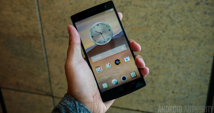 The Oppo Find 7 1