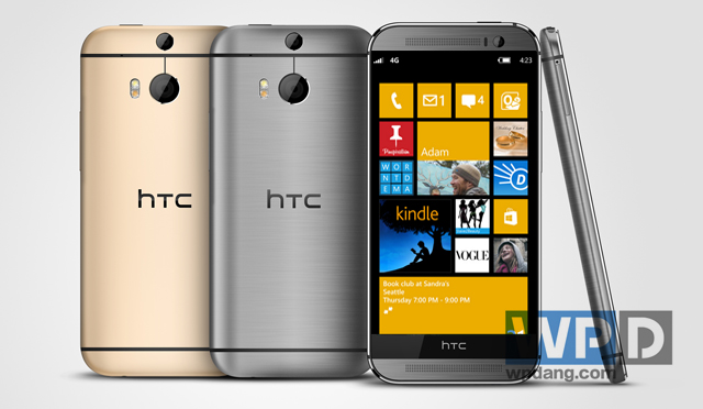 Y aura-t-il un HTC One M8 sous WIndows Phone ?