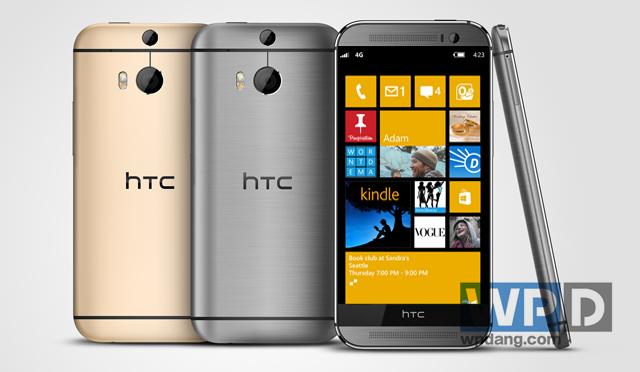 Y aura-t-il un HTC One M8 sous WIndows Phone ?