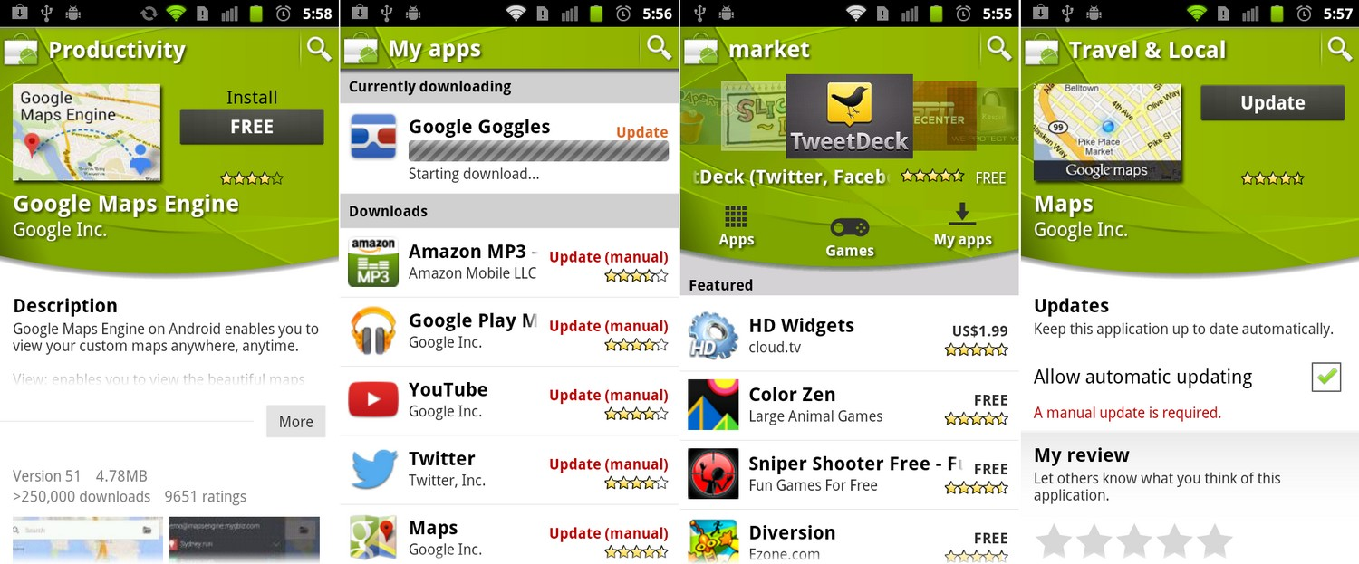 Android Market 2.0