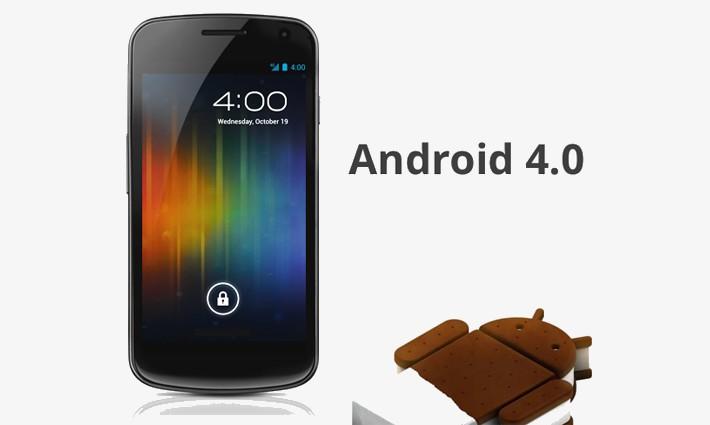 Android 4.0 est beaucoup plus stable que iOS 7