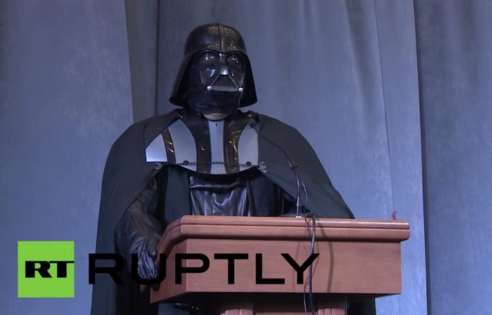 Dark Vador aux élections présidentielles !