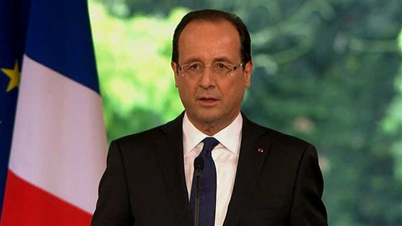 François Hollande internet