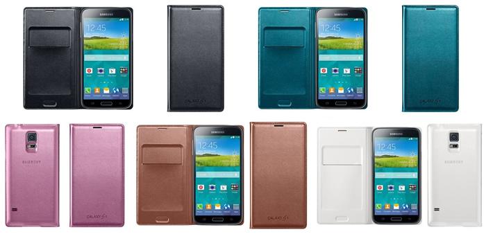 Coque portefeuille du Galaxy S5