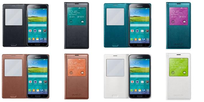 Coque S View du Galaxy S5