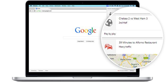 Google Now bientôt intégré à la version PC de Google ?