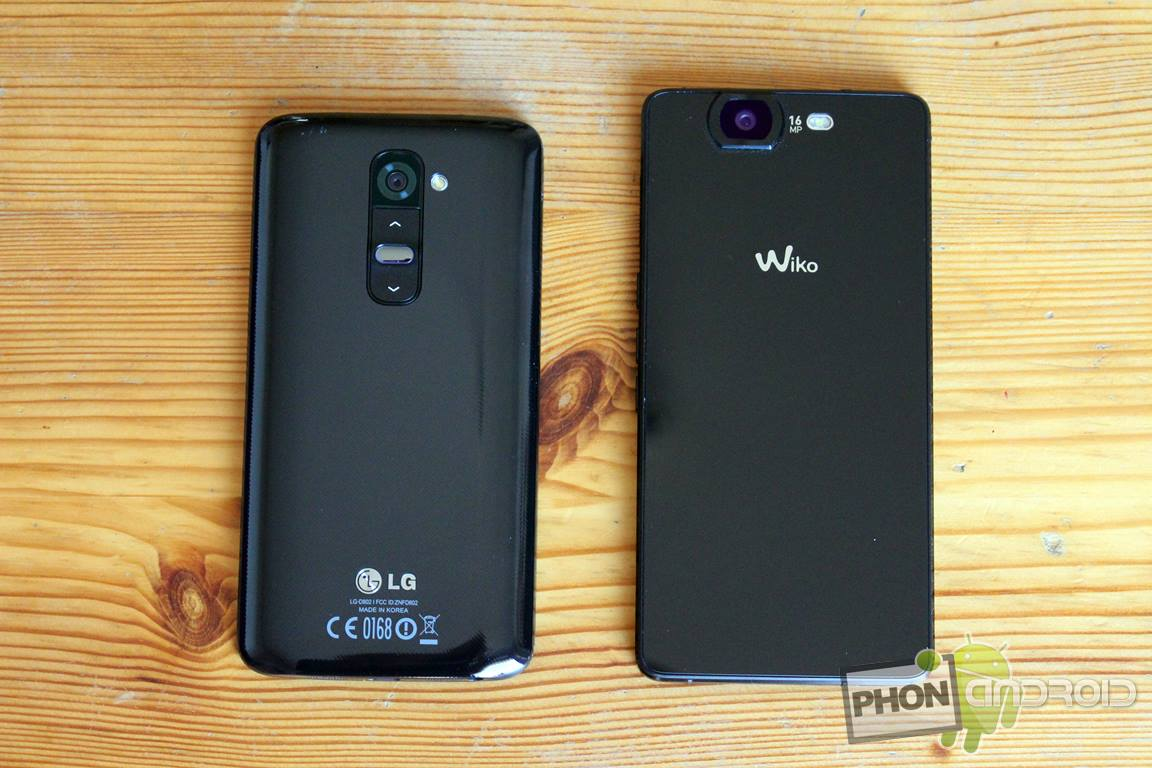 lg g2 vs wiko highway
