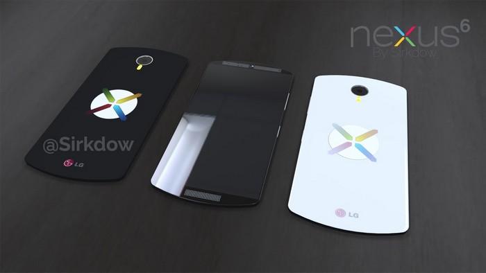 LG Nexus 6 : un concept très haut de gamme du prochain ...