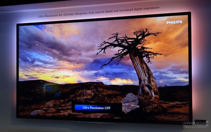 La 4K s'invite sur les télévision Philips