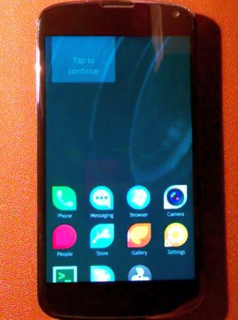 Premiers pas de Salfish OS sur Android