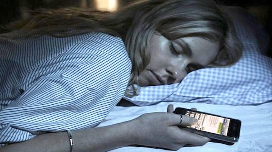 dormir avec telephone