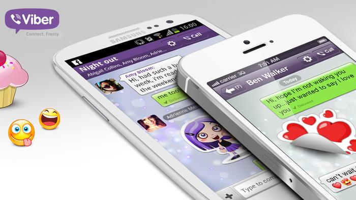 Avec Viber, les appels sont illimités