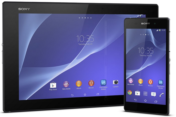 xperiaz2 smartphone tablet